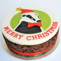 Personalized Christmas cake