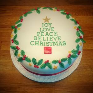 JOY Christmas Cake