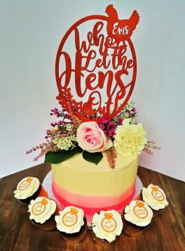 Hen Do Cake